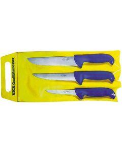 Dick mesarski noževi Ergogrip 3u1