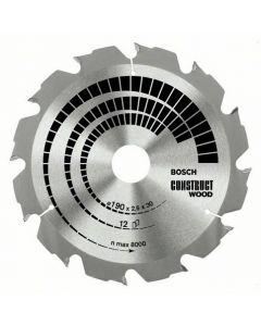 Bosch 160x2,6x16 12HM-CT List kružne pile za građevinare 2608640630