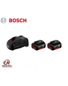 Bosch 2 x GBA 18V 5.0Ah + GAL 1880 CV Professional 1600a00b8j