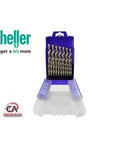 Grt Svrdla HSS-Co 1-13mm DIN 338 za INOX 25 djelna Heller 29385