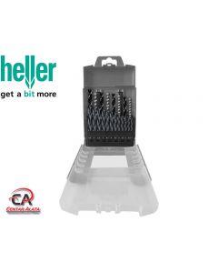 Set Svrdla za metal drvo i beton 1-8mm 20 djelna Heller 28895