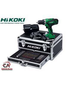 HiKoki DS18DJL Aku bušilica 18V sa 100 dijelnim priborom