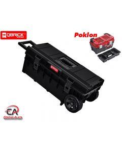 Kofer za alat Qbrick Longer Basic sa kotačima poklon kofer S500