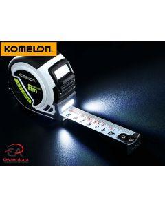 Komelon LED Light 8m x 25mm tračni metar čelićni PLD85