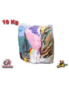 Krpa pamučna šarena za čišćenje u industrijska ili radionici 10kg