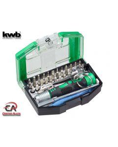 KWB Bits for Bytes garnitura alata za mobitele i elektroniku 30 djelna