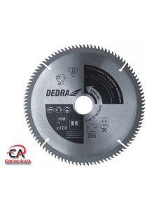 Dedra 250x30 100Z List kružne pile za drvo i aluminij