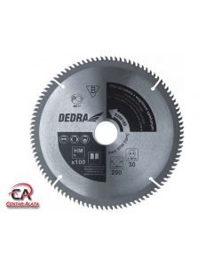 Dedra 200x30 100Z List kružne pile za drvo i aluminij