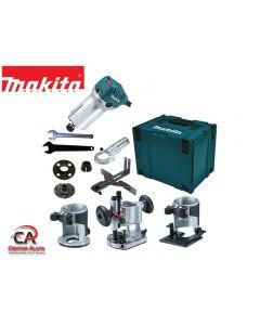 Makita RT0700CX2J Jednoručna glodalica 710W