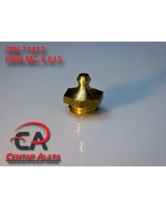 Mazalica AM14x1.5 DIN 71412 HRN MC4 613 Ravna mesing