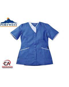 Medicinska tunika Modern plava LW13 Portwest