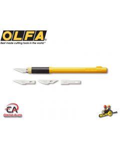 Olfa AK-4 Skalpel za modelare i grafičare sa 3 noža