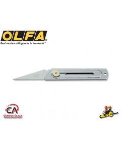 Olfa CK-2 Nož od inoxa za rezbarenje sa krutom oštricom Kiridashi