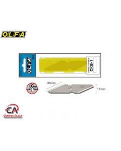 Olfa CKB-1 Nož dvostrani za skalpel CK-1