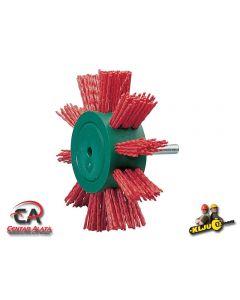 Ravna četka za drvo crvena Osborn fi 100mm za bušilicu
