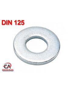 Podloška M 5 Zn DIN 125 Oblik A Ravna