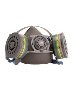Portwest polumaska Auckland P410 za dva filtera