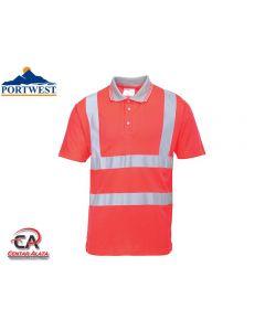 Portwest S477 Polo majica crvena