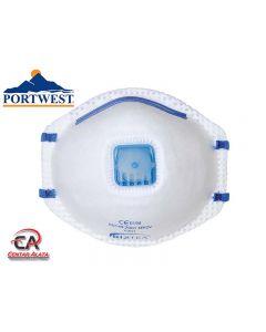 Portwest P201 - FFP2 višekratna maska s membranom za izdisanje 10kom