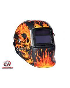 RAXX Automatska maska za zavarivanje oslikana DIN 9-13