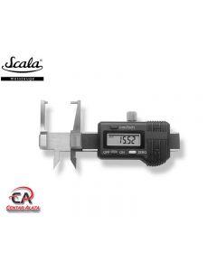 Scala Digitalni mjerač debljine materijala 0-25mm 0,01mm 624.206