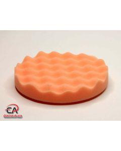 Spužva za poliranje narančasta valovita 160mm