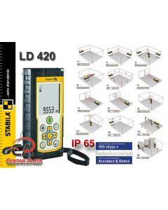 Stabila LD 420 Laserski daljinomjer 0,05-80m