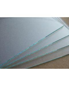 Staklo prozirno 10x10 cm