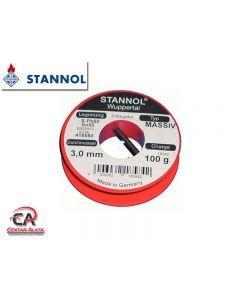 Lem za meko lemljenje Pb50Sn50 3mm Stannol za instalacije