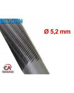 Bludan turpija za lančane motorne pile 5,2x200 mm okrugla
