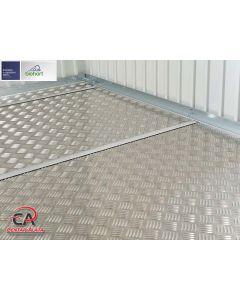 Aluminijska podnica za Europa vrtnu kućicu Biohort 285,5 x 285,5 cm veličina 7
