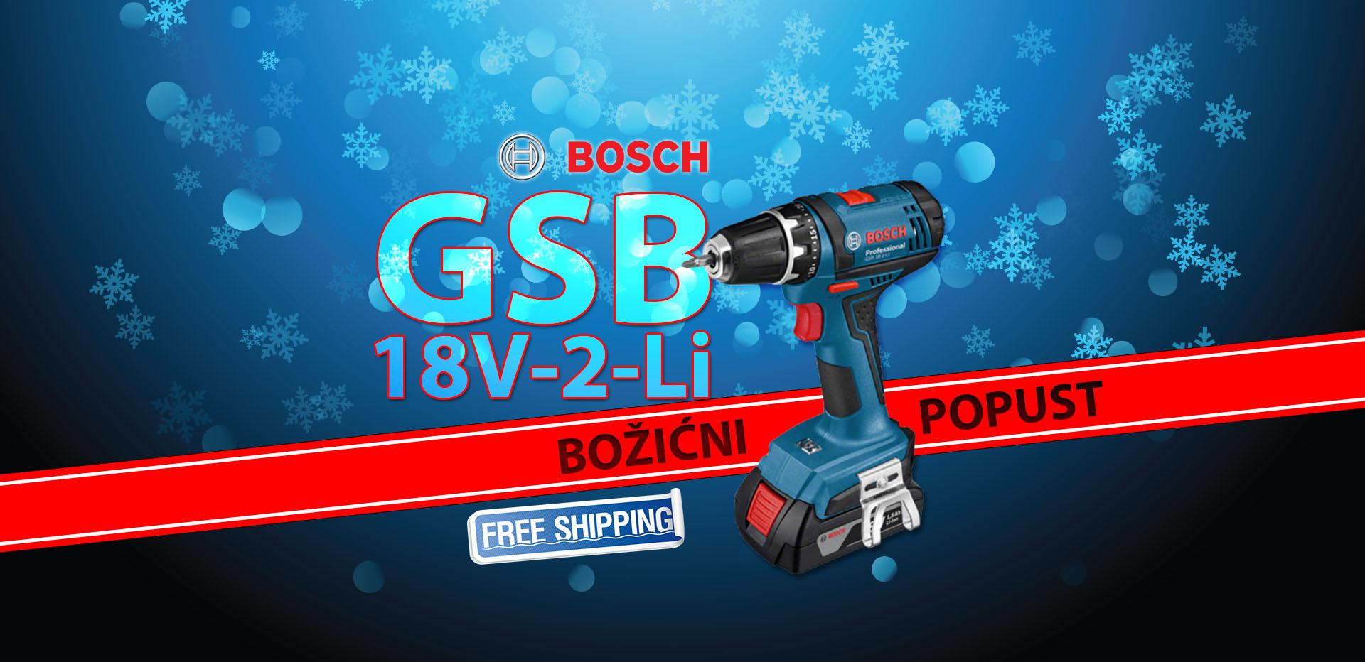 Bosch GSB 18V-2-Li