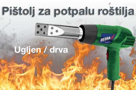 Dedra Pištolj za vrući zrak GRILL 2000W